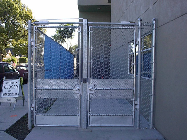 Pacific security fence commercial fencing