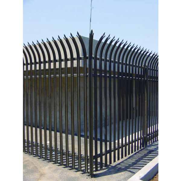 Pacific security fence wrought iron