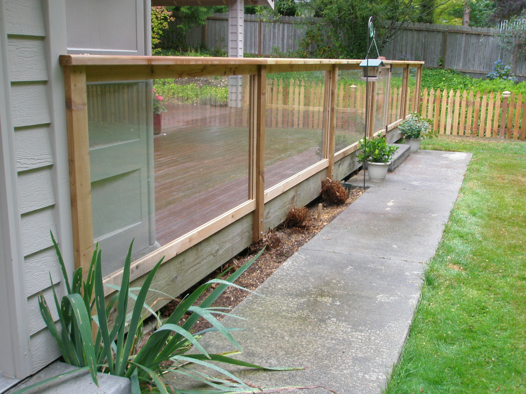 pacific security fence glass fencing